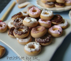 Miniature Food Dollhouse - Polymer Clay Mini Food Donuts (PetitPlat - Stephanie Kilgast) Tags: pink food miniatures miniature doll handmade chocolate clay junkfood handcrafted minifood collectible 112 dollhouse fakefood miniaturecake dollshouse polymer minidonuts miniaturefood minicake sugarsweet oneinchscale dollhouseminiatures sweetfood clayfood petitplat miniaturefoods minicookie stphaniekilgast miniaturecookie miniaturetart dollhouseminiaturefood miniaturesdonuts miniaturedonutdollhouse miniaturedonuts dollhousesweets dollhousedonuts miniaturetreats miniaturepastryshop