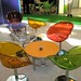 Gliss Chair Clear, Gliss Chair Red, Gliss Chair Green, Gliss Chair Orange - Chair Hire - NHS Stand Manchester