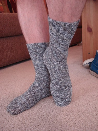 socks knitting gray regiabamboo markssocks