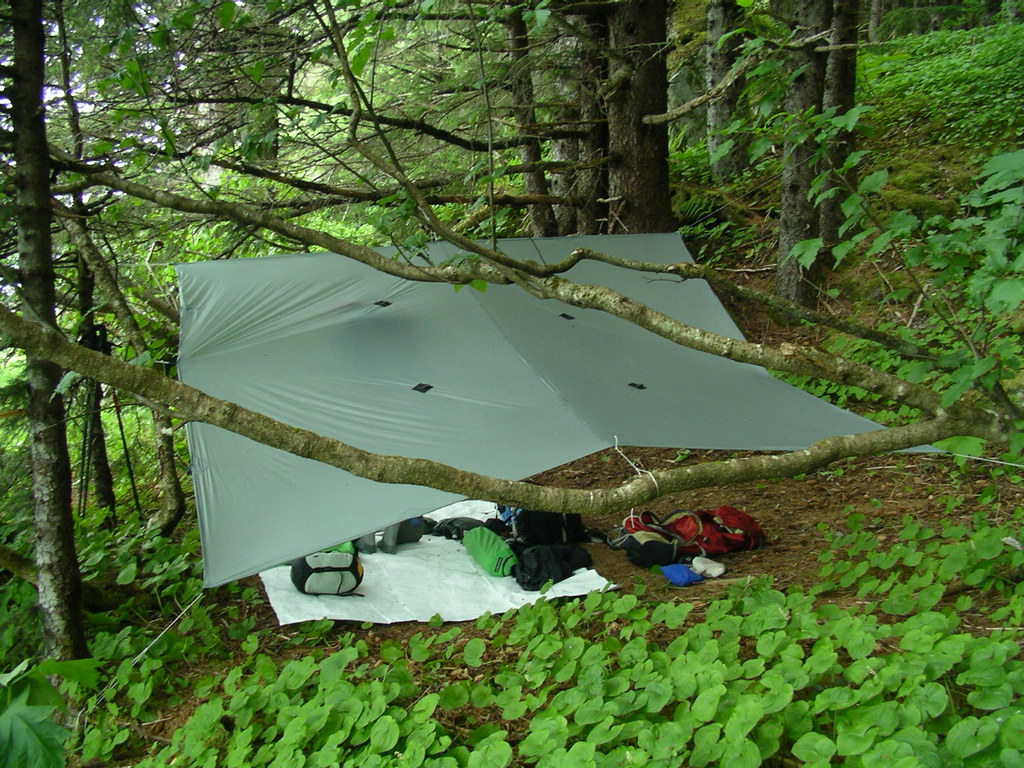 Tarp Camp at Cherokee Flats