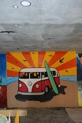 DSC_0774 (Kurt Christensen) Tags: art beach painting mural surf thrust gilgobeach gilgo