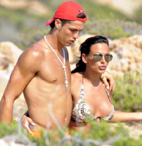 Cristiano Ronaldo & Sexy Girl Friend