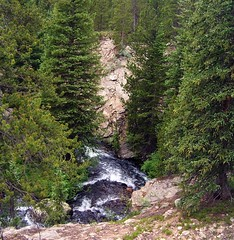 Cascasde Creek Gorge (mtncanyon) Tags: lake mountains creek colorado eagle indian peak trail crater lone wilderness peaks cascade