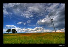 Wind turbine near Słupsk (Mariusz Petelicki) Tags: windmill poland polska hdr windturbine canonefs1022mm wiatrak 3xp pomorze słupsk canon400d aplusphoto mariuszpetelicki elektrowniawiatrowa