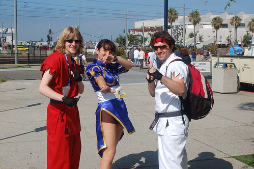 Comic Con 2008: street fighters