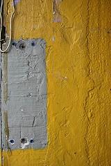 grey and yellow (Drozner) Tags: urban abstract wall minimalistic