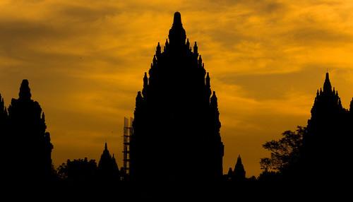 印尼、日惹:Prambanan (普蘭巴南)