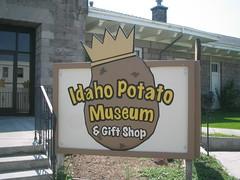 idaho potato museum (deepfry) Tags: blackfootidaho