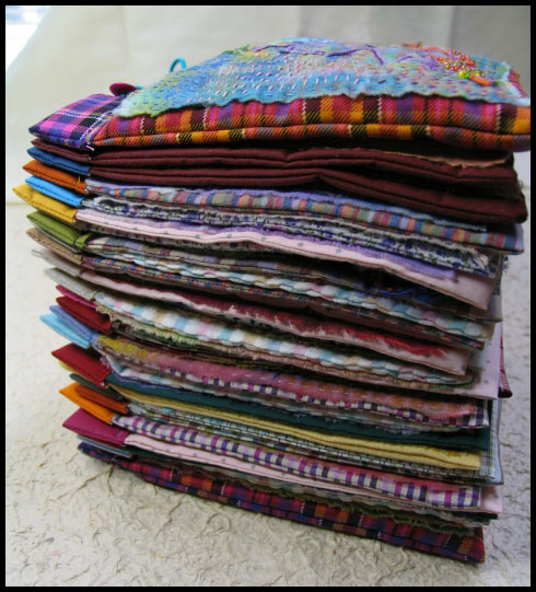 #213/366 fabric book