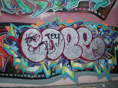 Graffiti NY Hall of Fame (Till C) Tags: usa ny graffiti pod montana harlem graf totem halloffame dane graff cope dez serve videoproduction eon saite kase tkid zye nyhalloffame cope2008