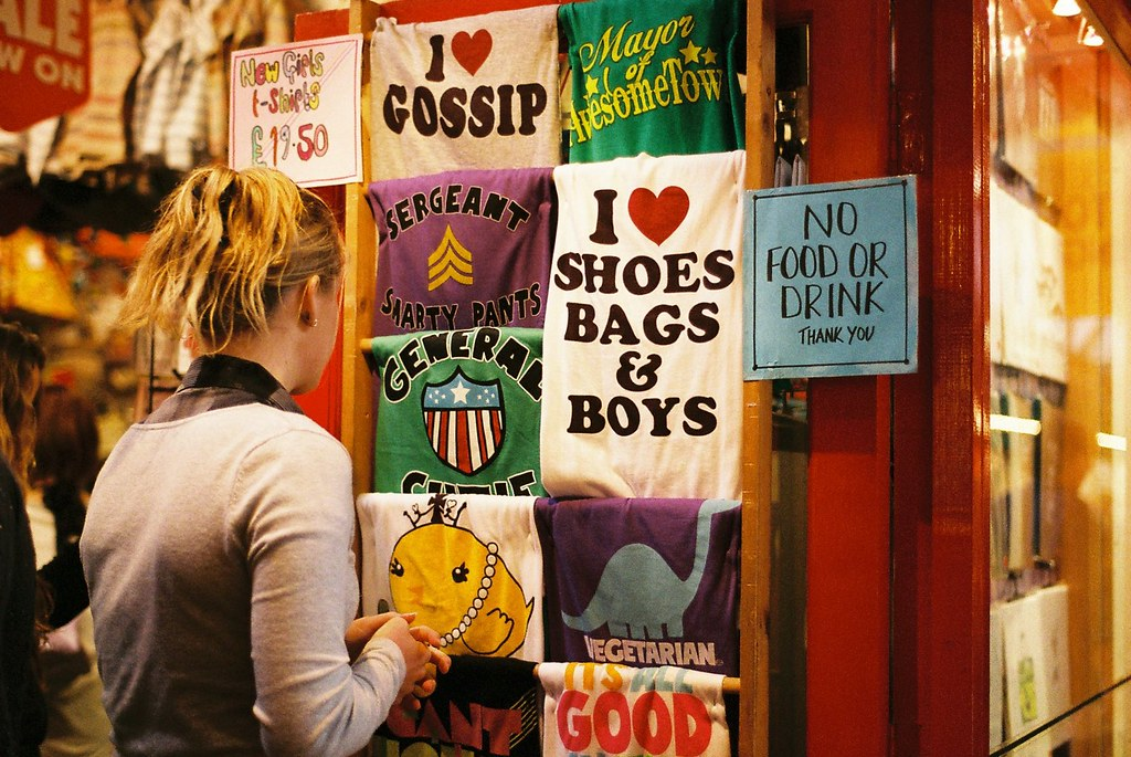 Shoes Bags & Boys (Or, 'I Love Female Stereotypes!')