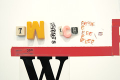 Type Pairings event in UPPERCASE (uppercaseyyc) Tags: collage typography letters letraset uppercasegallery