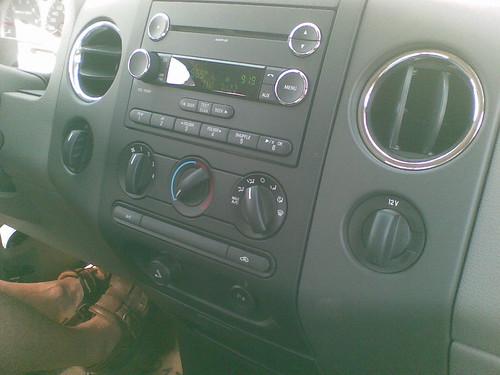 Ford F150 Center Console