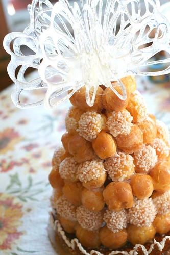 This is A Croquembouche