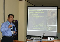 Illusive or Elusive? (Prof KMS) Tags: plant parasites seminar elusive rafflesia endo parasitic holo sumatera illusive helosis balanophora rhopalocnemic