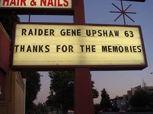 RAIDER GENE UPSHAW 002 by Ricky's Sports.