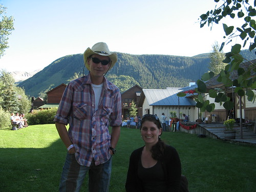 Craig and Tania in Crested Butte