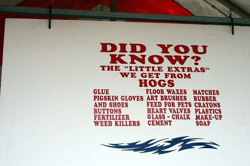 Um, thanks, hogs.