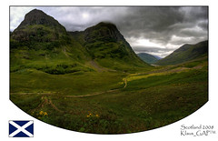 My trip to Scotland (1/20): Battlefield Glen Coe (Klaus_GAP - taking a timeout) Tags: panorama mountains green clouds scotland highlands holidays glen valley hdr tal hdri schottland artcafe gotagged photomatix platinumphoto whide goldstaraward globalworldawards