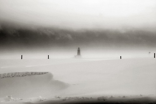 BLIZZARD ON LAKE MICHIGAN