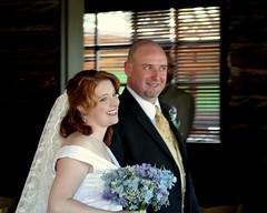 holly and neil (artolog) Tags: wedding friends bride couple veil marriage neil holly hydrangea bouquet bridal nuptials newlyweds