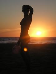 silhouette (orso capo / www.georock.info) Tags: tramonto mare silhouete compleanno scivu