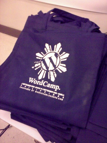 The campers bag