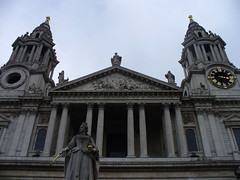 St. Paul's Cathedral Main Entrance