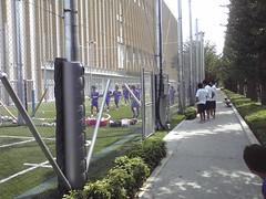 FC東京U-18 アップ中