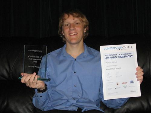 Andover College 2008 Principal's Award