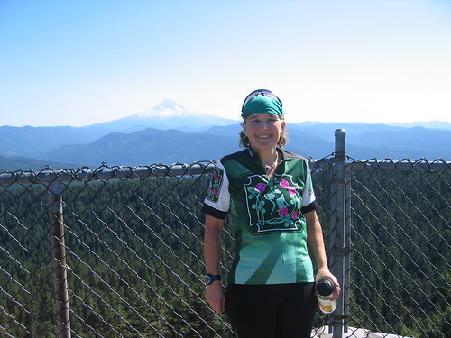 me with Mt Hood in the background