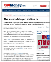 Quicken Loans reports most delayed airlines and airports from CNN Money by whatsthediffblog, on Flickr
