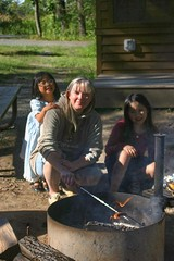 The Girls and I  at William O'Brien Camping