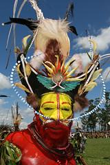 A Wigmen during the Mount Hagen Show (Bertrand Linet) Tags: makeup papua png papuanewguinea tribe ethnic gorokashow goroka festival singsing papu papou oceania oceanie tribes tribu tribus tribal papuanewguineapictures papuanewguineapicture papuans papuan papuanewguineanpeople maquillage facepainting makeupgoroka remotetribe huli hulis wigmen plume plumes feather feathers headdress papuaneuguinea παπούανέαγουινέα 巴布亞紐幾內亞巴布亚纽几内亚 パプアニューギニア papuásianovaguiné папуановаягвинея papuanuovaguinea papúanuevaguine papuanyaguinea papúanuevaguinea kina pidgin shells shell coral melanesian ethnique mounthagen wig mounthagenshow hagen face westernhighlands yellow bertrandlinet papuanewguineamounthagenface