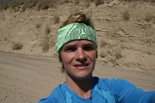 Bandana-clad on the dusty roads...