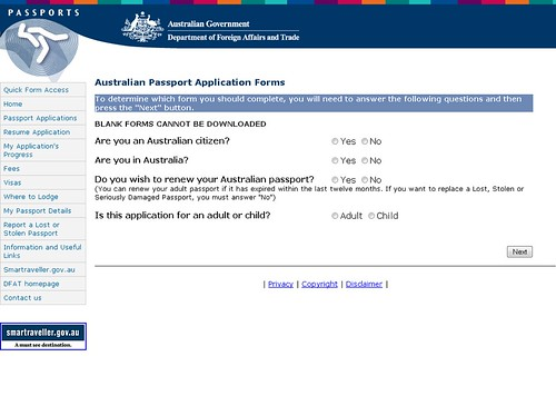 Renewing Aussie passport nightmare RuthEllison – Passport Renewal Application Form