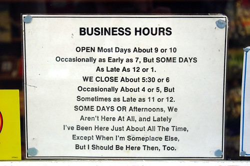 Business Hours by madnzany, on Flickr