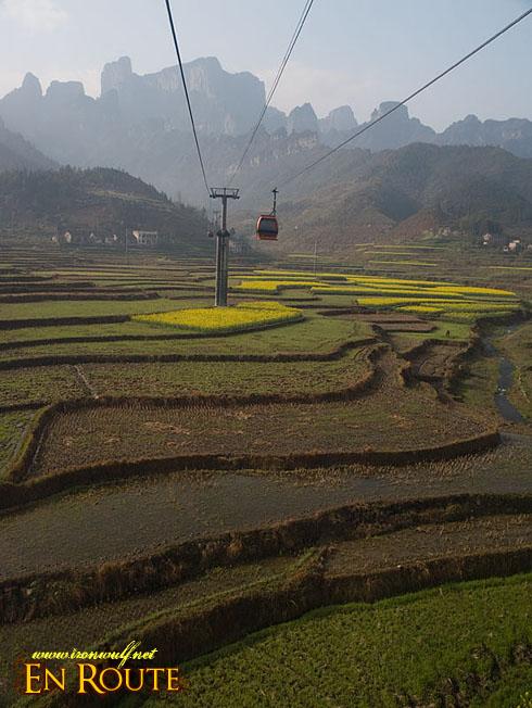 Over the Zhangjiajie Terraces