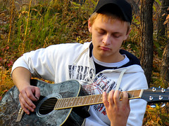P1060155 (Screenshot Ru) Tags: autumn acousticguitar