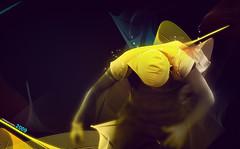 Fondo Myspace (RolanGonzalez) Tags: wallpaper azul myspace amarillo chico fondo capucha