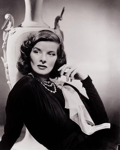 Katharine Hepburn by pempere