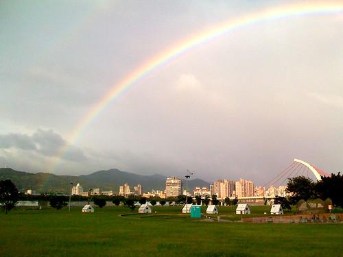 彩虹 2008-10-16 紀念王永慶