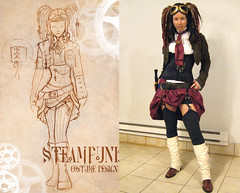 Steampunk Halloween Costume (Urban Threads) Tags: halloween diy costume concept aviator steampunk airpirate