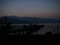野尻湖の朝