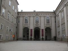 Salzburg Residenz Courtyard