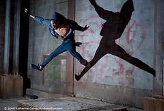StevieBoi (ambienteye) Tags: portrait people usa man male person graffiti hoodie jump model stevie katherinegaines ambienteye