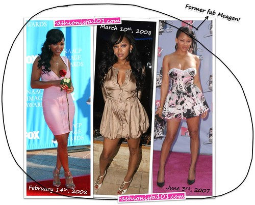 meagan good looking great! by you.
