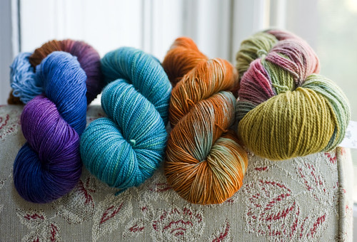 Rhinebeck Sock Yarns