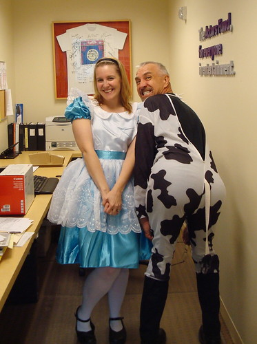 Alice and the cow...