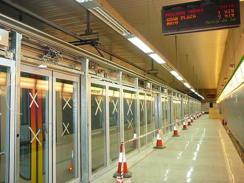 Visita Sevilla21 al Metro de Sevilla, 5/Nov/2008 - P1060241.JPG